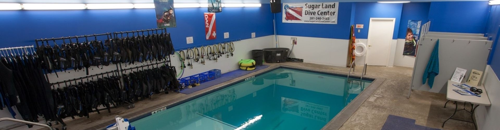 Sugar Land Dive Center Pool