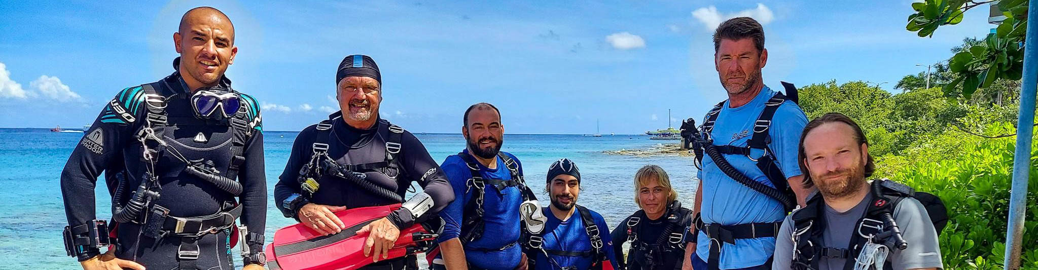Tec group with Cozumel Dive Academy